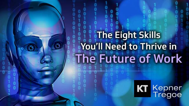 Oct. 8, 2pm EST.   Webinar: The 8 Skills You'll Need to Thrive in The Future of Work